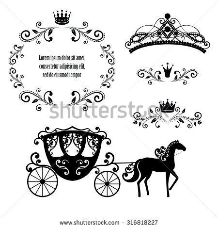 Cinderella Coach Stock Vectors & Vector Clip Art | Shutterstock ...