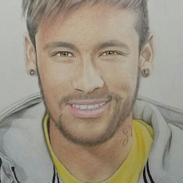 Neymar - Color pencil drawing | Just some doodles in 2019 ...
