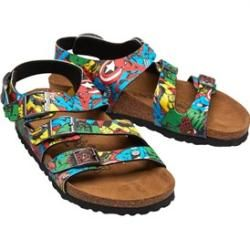 Photo of Birkenstock Marvel Svengers Comic Boys Ellice Birko-Flor Sandals Multicolor Print Birkenstock