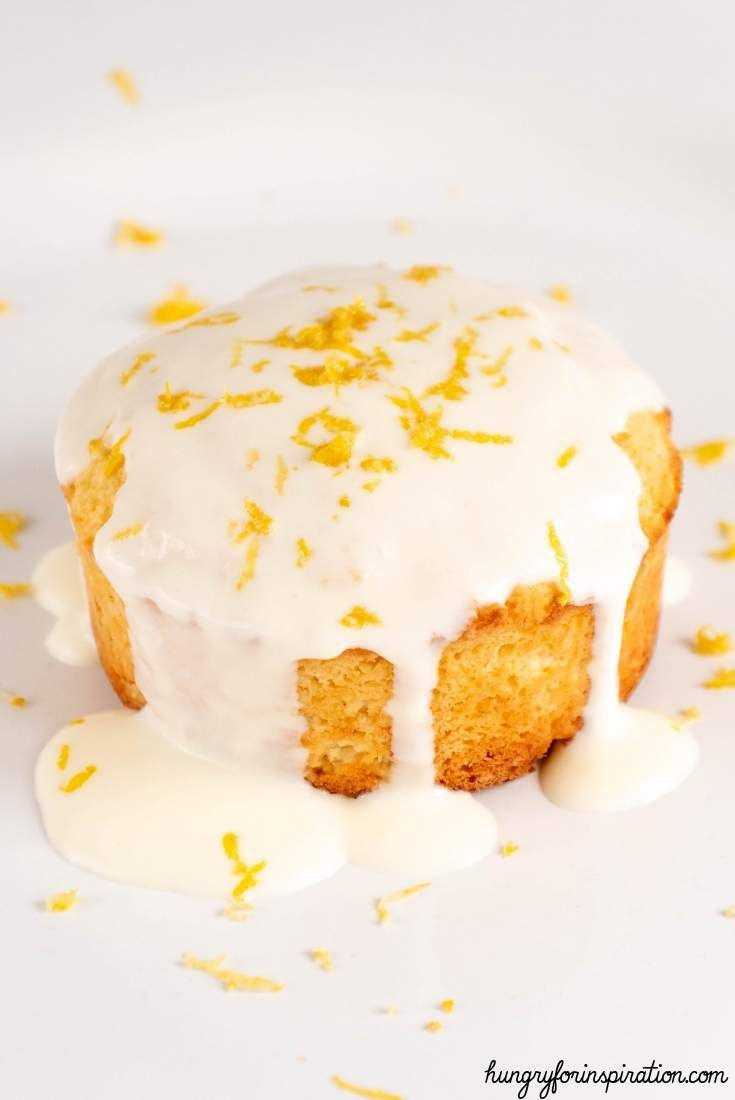 Easy 5-Minute Keto Lemon Mug Cake | Hungry For Inspiration ...