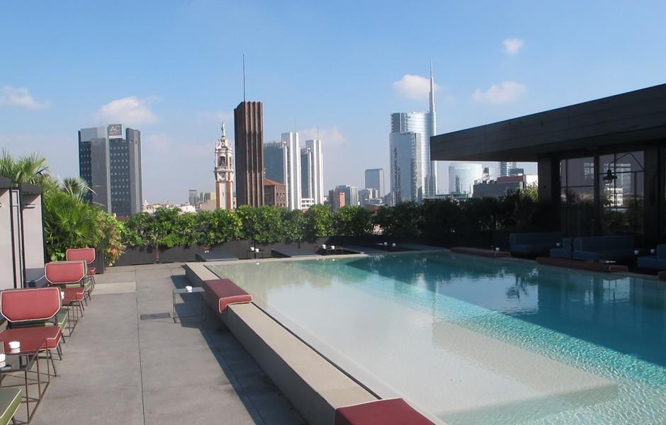 Rooftop pool, Milan http://www.notabeneglobal.com | Milan ...