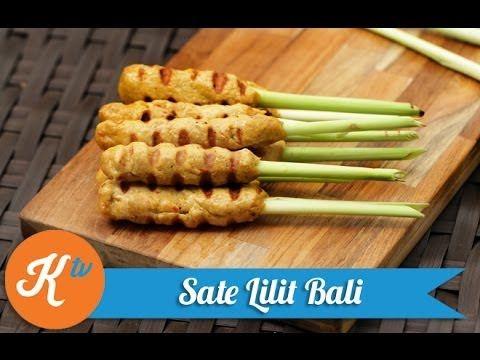 Balinese Satay Lilit Recipe Yuda Bustara Resep Resep Makanan Resep Masakan