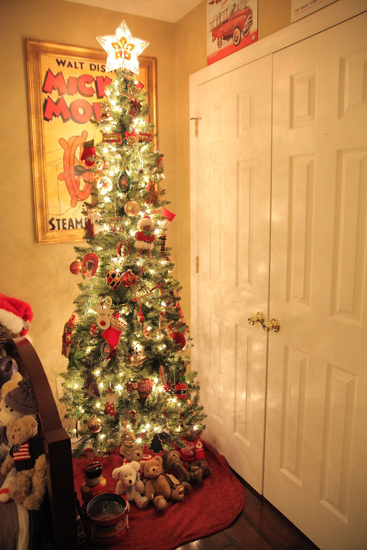 2012 - Kids Christmas Tree. They love having one in their room. | My ...