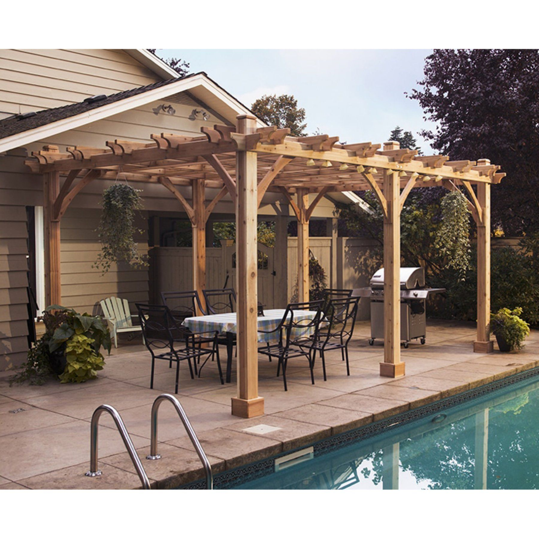 Outdoor Living Today Breeze 12 X 20 Ft Pergola Bz1220 Pergoladesigns Outdoor Pergola Backyard Pergola Pergola