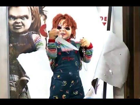 A Maldição de Chucky【Pegadinha Silvio Santos INÉDITA 】