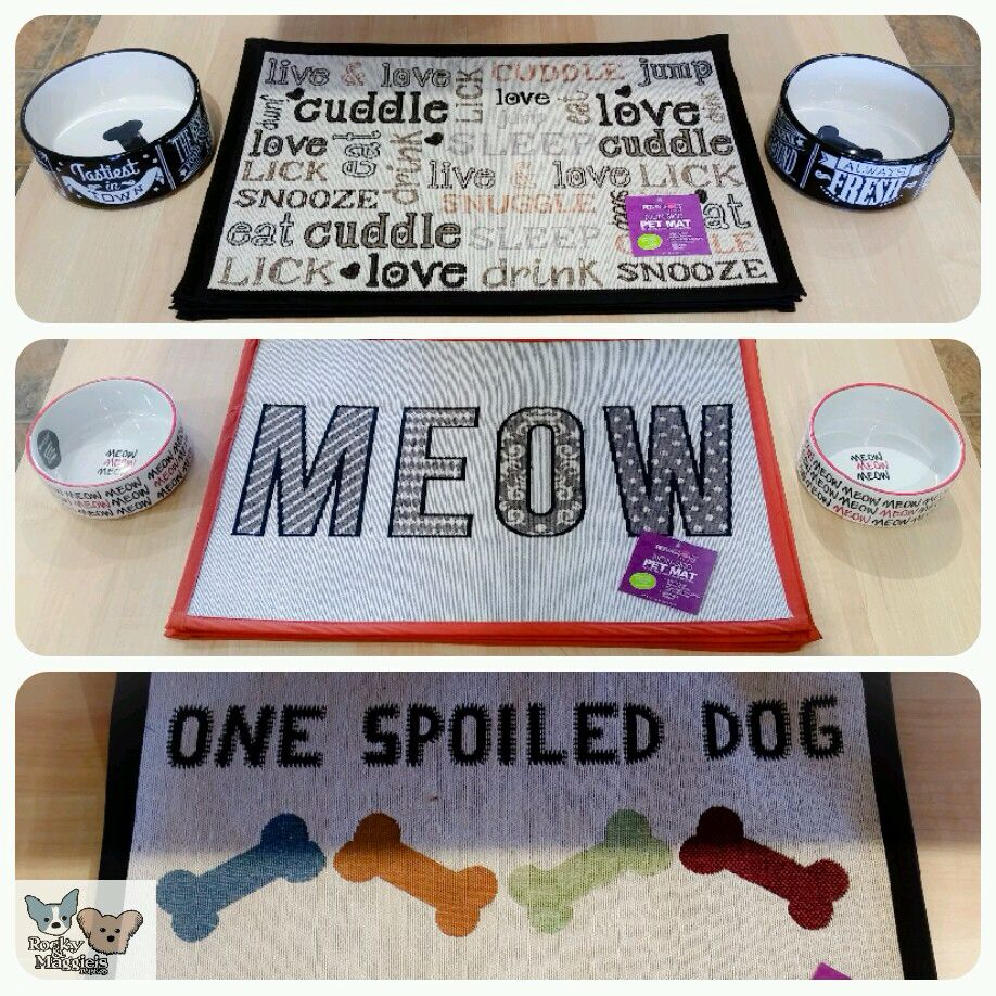 Placemats and bowls Pet boutique, Spoiled dogs, Cuddle love