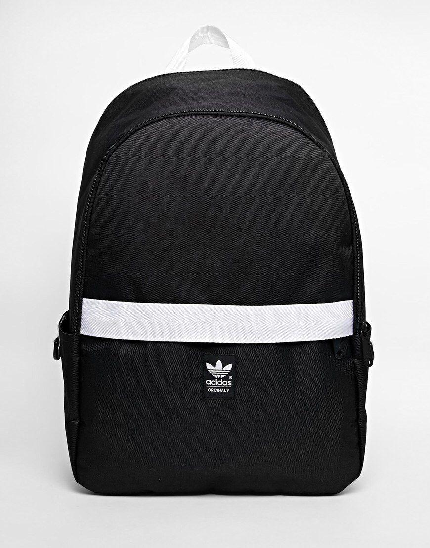 f7da075e412d3 Adidas Originals – Rucksack mit Kontrast-Reißverschluss