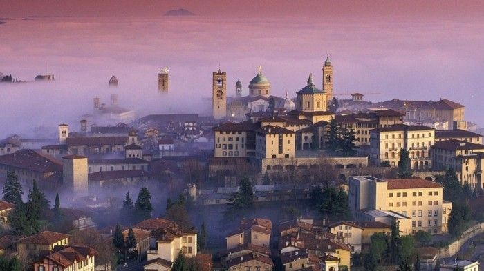 Les plus belles villes d'Italie à visiter Bergame