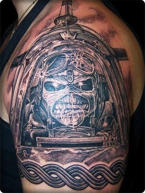 Aces_High #Iron_Maiden #tattoo   Tattoo ideas   Tattoos, Gandalf ...