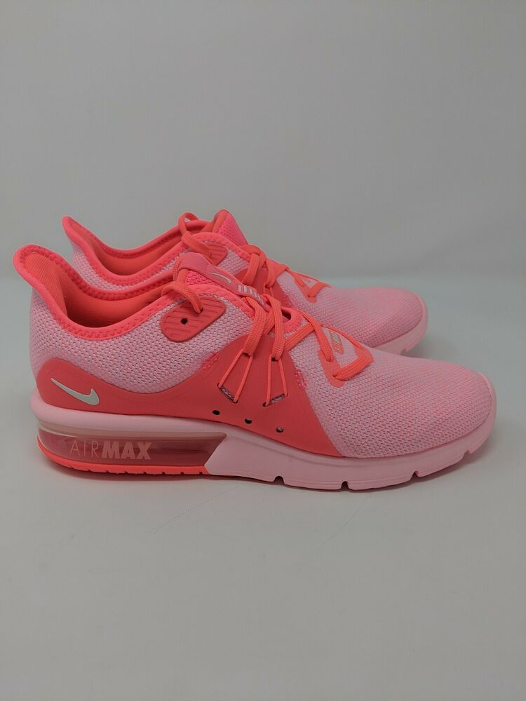 Nike Air Max Sequent 3 Womens Size 9 Running Shoes Hot Punch Style 908993  601 - 65ef896fc