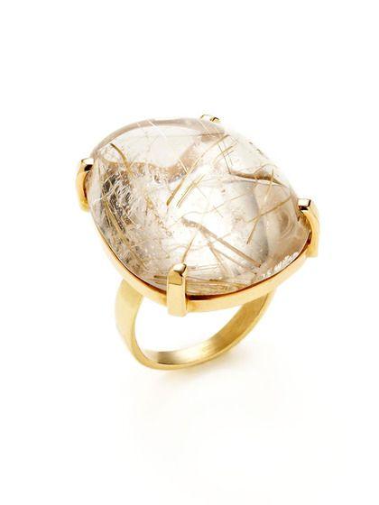 Black Rutilated Quartz Ring Tourmalinated Quartz Ring 12x10 Etsy Rutilated Quartz Ring Quartz Crystal Jewelry London Blue Topaz Engagement Rings