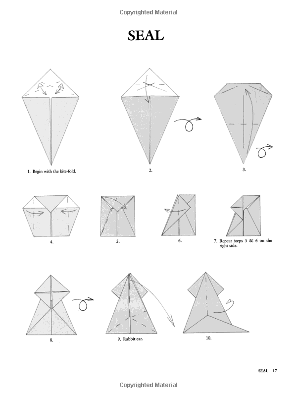 Amazon Com  Animal Origami For The Enthusiast  Step