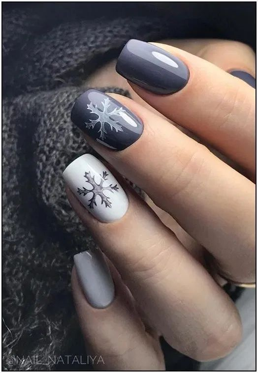 28 Perfect and Outstanding Nail Designs for Winter 2020