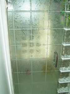 Gluechip Tiles Shower Close Up Custom Showers Glass