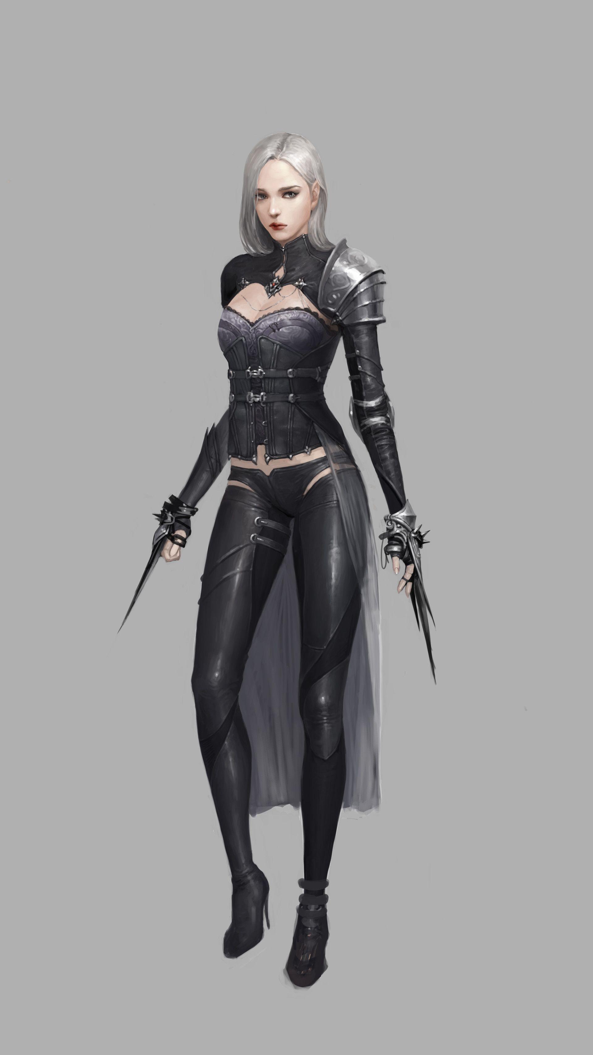 artstation - dark elf, jiyeon ryu | cg computer graphics art