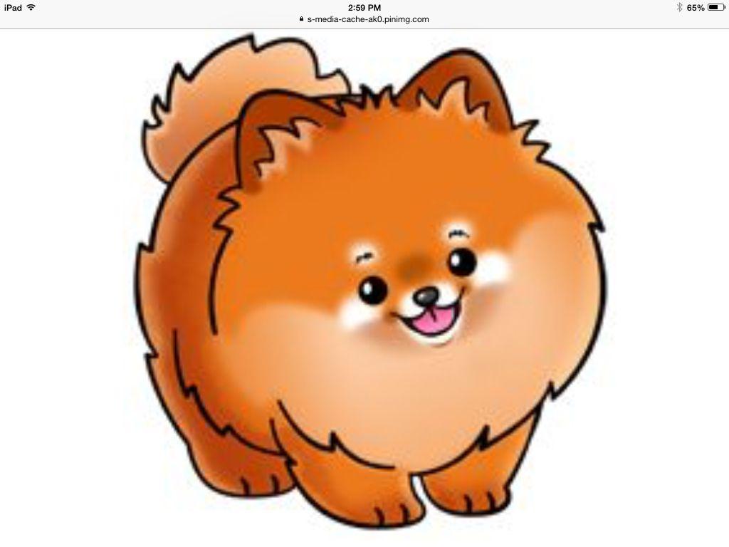 Pomeranian Dibujos De Perros Dibujos De Animales Perros En