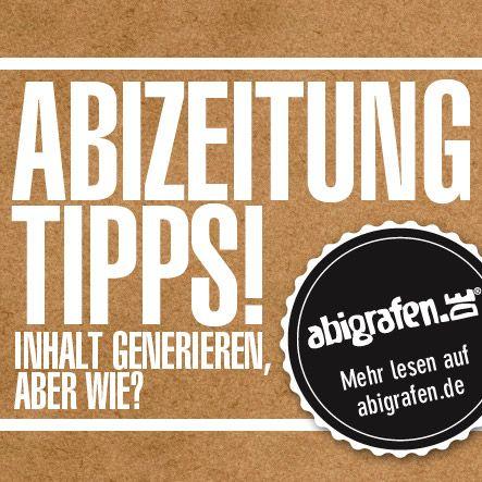 Bei abigrafen.de findet ihr eine kostenlose Anleitung zur ...