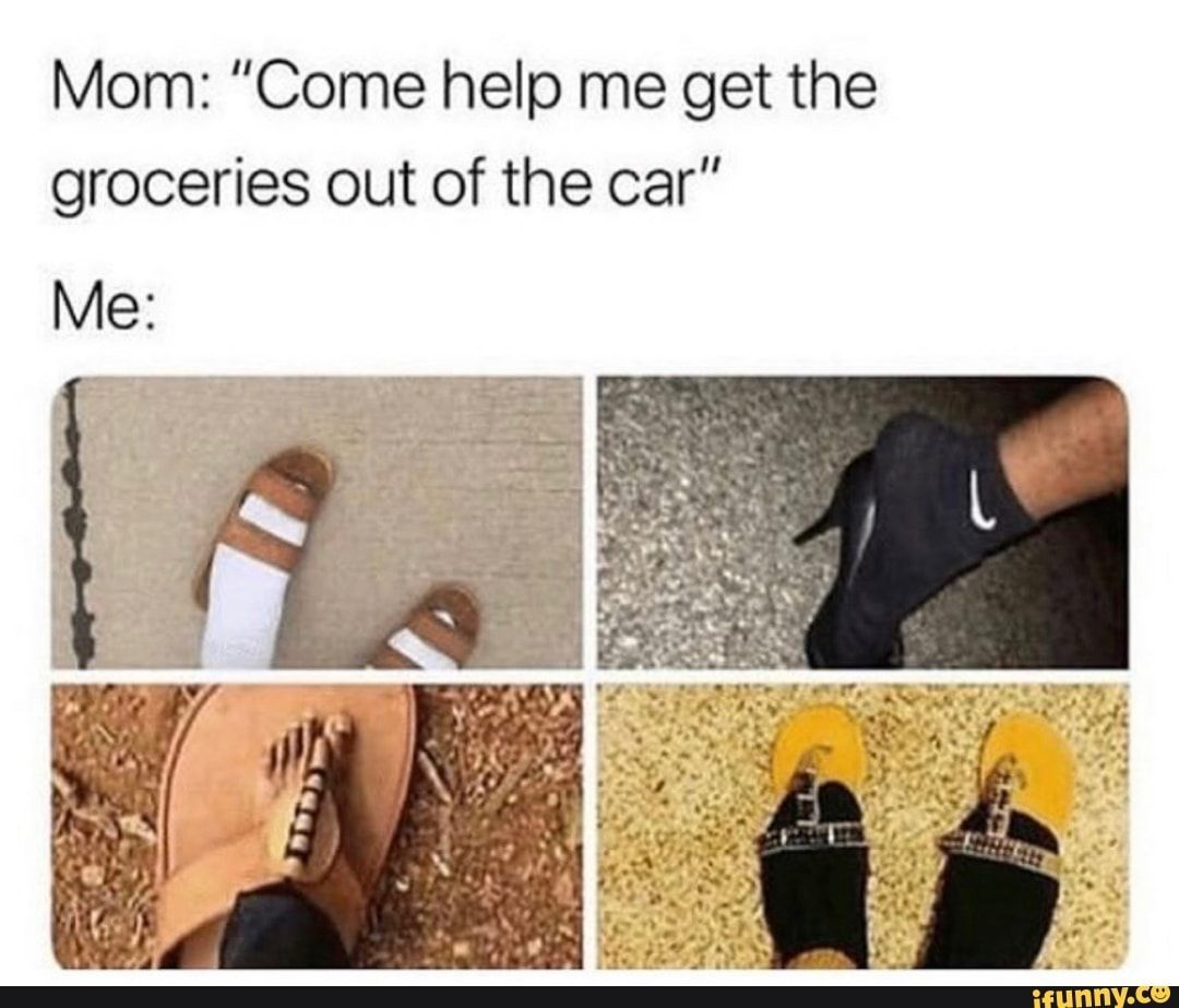 Picture memes GfvHO5957  iFunny Mom Come help me get the groceries out of the car  popular memes on the site car memes musclecarmemes