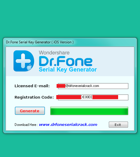 wondershare data recovery key generator