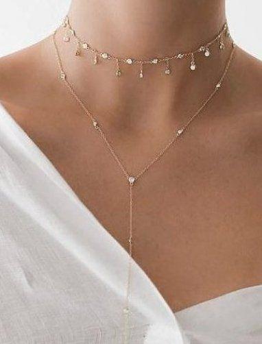 Quaste Stern Choker Halskette  Gold   #accesories -  Quaste Stern Choker Halskette  Gold   #accesories Source by accesories9959  -