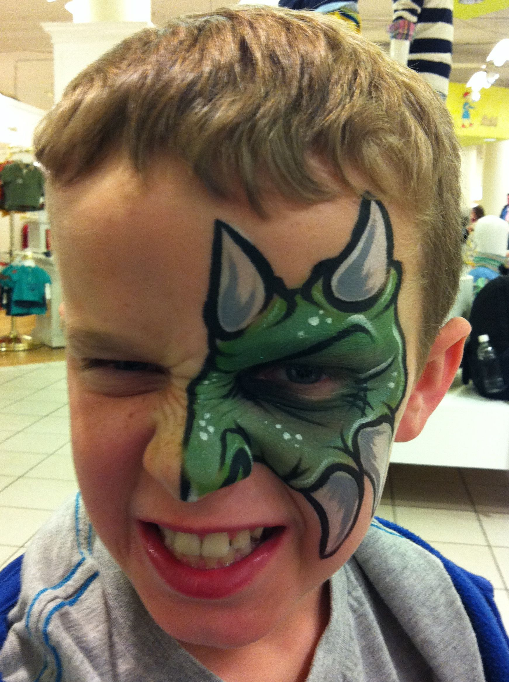 Face painting rock your body art chicago based makeup for Airbrush tattoo paint
