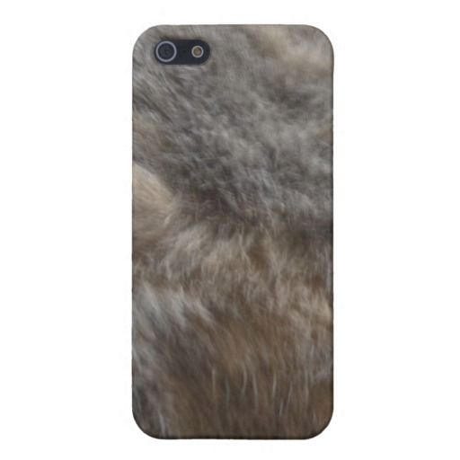 Faux Cat Fur look Case For iPhone 5