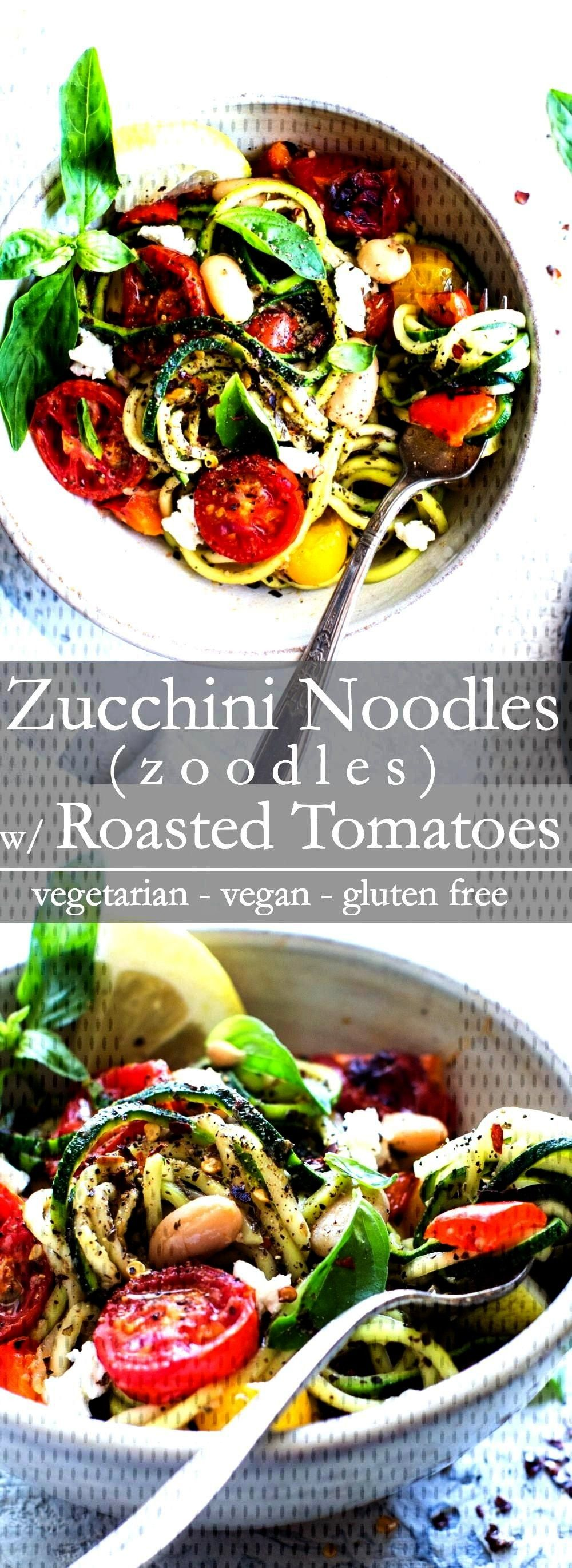 Noodles(Zoodles) Recipe with Roasted Cherry Tomatoes recipe: quick to pull together and Zucchini Noodles(Zoodles) Recipe with Roasted Cherry Tomatoes recipe: quick to pull together and packed with late summer veggies. I share how simple it is to cook zucchini noodles in a fabulous and easy zoodles recipe. A healthy pasta alternat...Zucchin