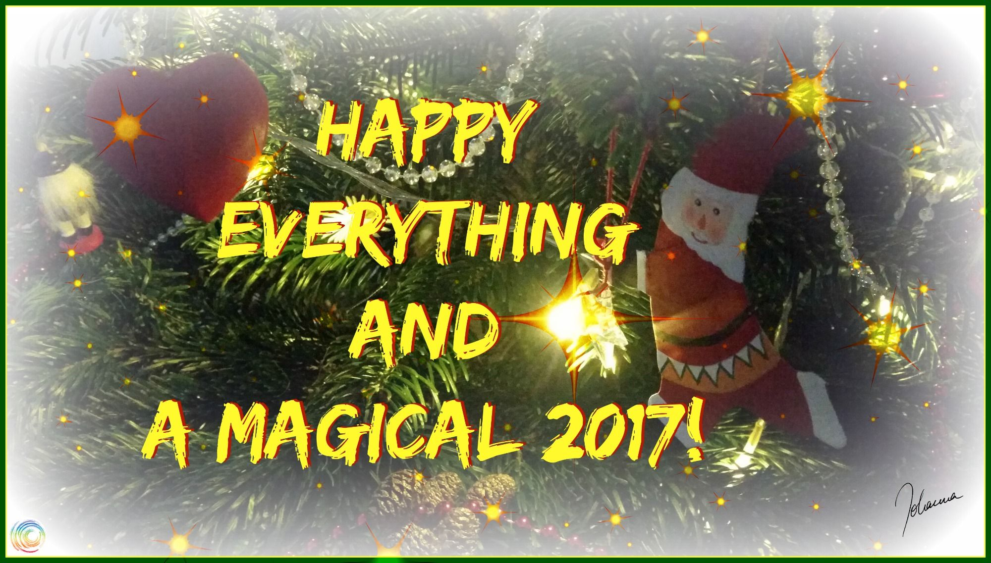 Happy everything and a magical 2017!