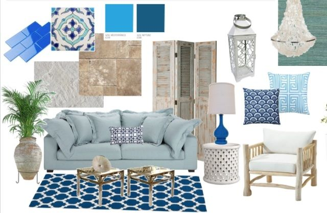 mediterraner wohnstil deko ideen inspirationen helle möbel
