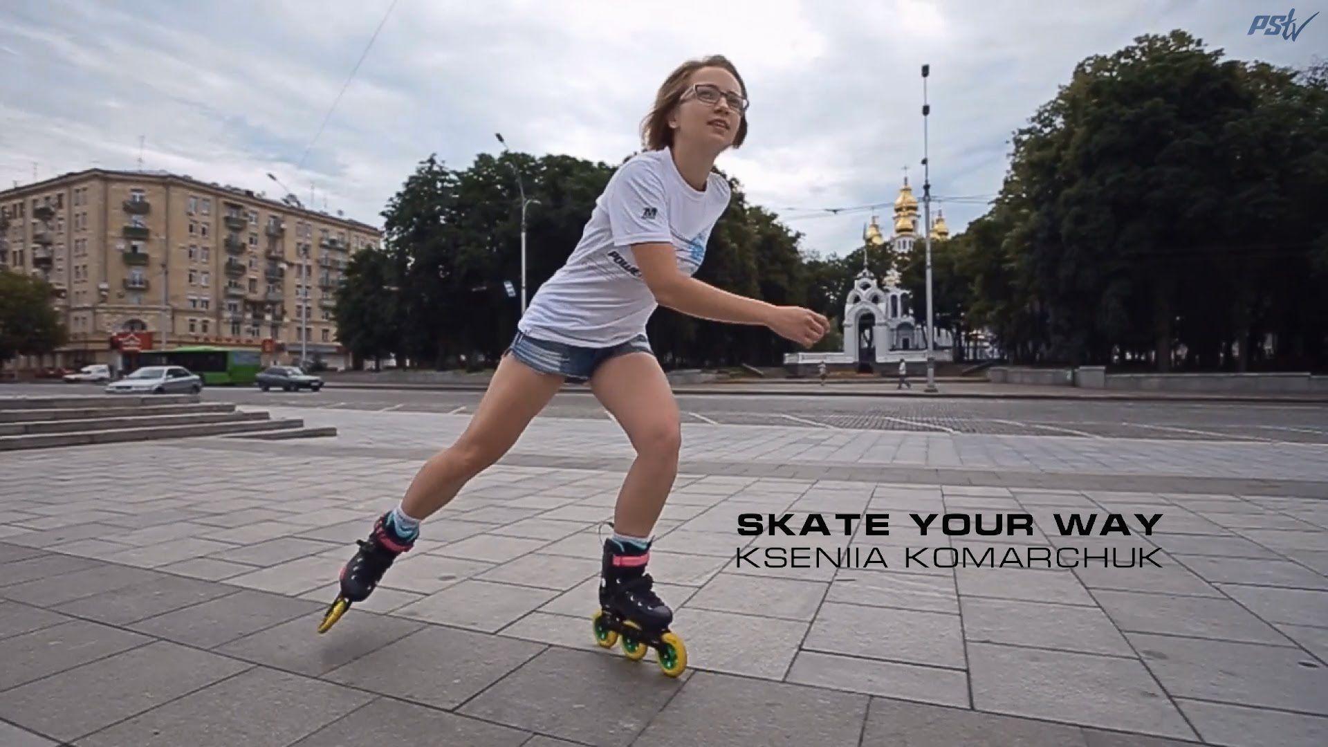 Skate Your Way Powerslide Inline Skates Kseniia Komarchuk Inline Skating Skate Inline