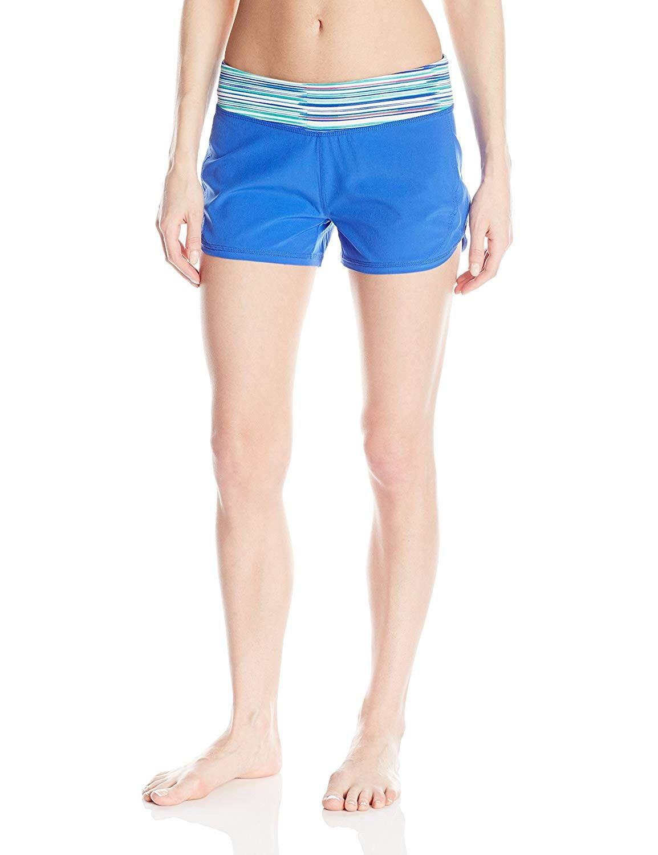 Women's Bethany Running Shorts - Athens Sky - C211MDC02PN - Sports & Fitness Clothing, Women, Shorts...