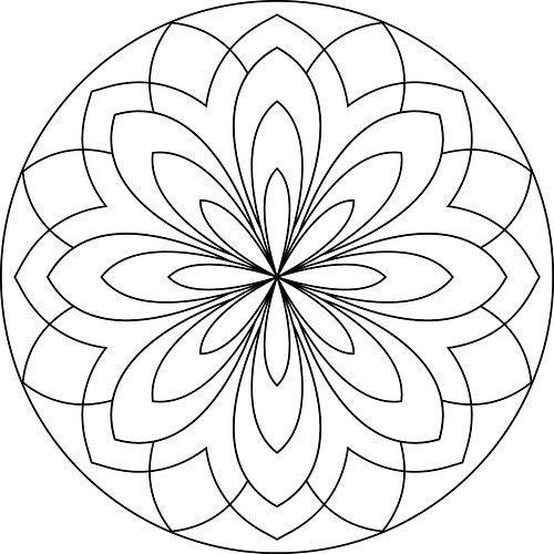 196 Dibujos De Mandalas Para Colorear Faciles Y Dificiles Mandalas Mandalas Para Colorear Puntillismo Mandalas Mandalas