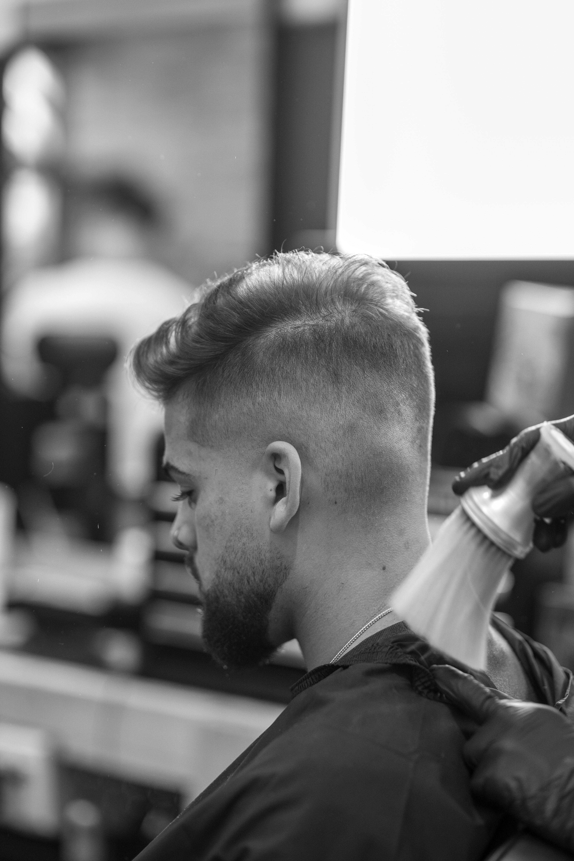Best Barbershop in Montreal. Men haircut / Beard / Line up / Full set  #menhaircut #menhair #fade #barberlife