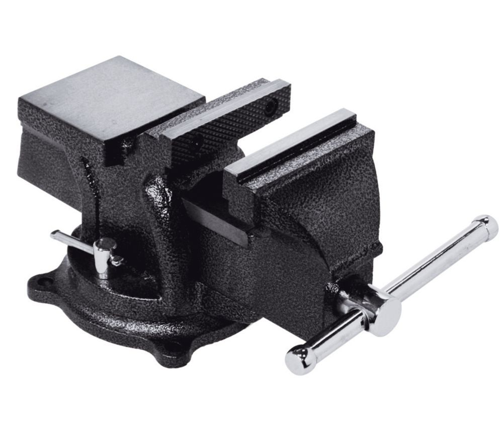 4 Inch Heavy Duty Bench Vise With Swivel Base Bench Vise Vise Heavy Duty Work Bench