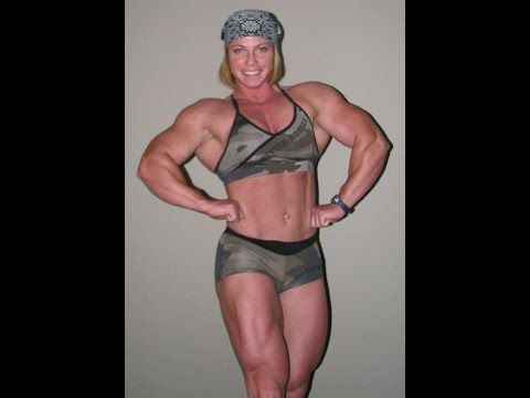 Fabiola Boulanger 20 Inches Biceps Ifbb Female Bodybuilder You
