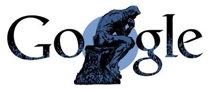 Auguste Rodin Google Doodle