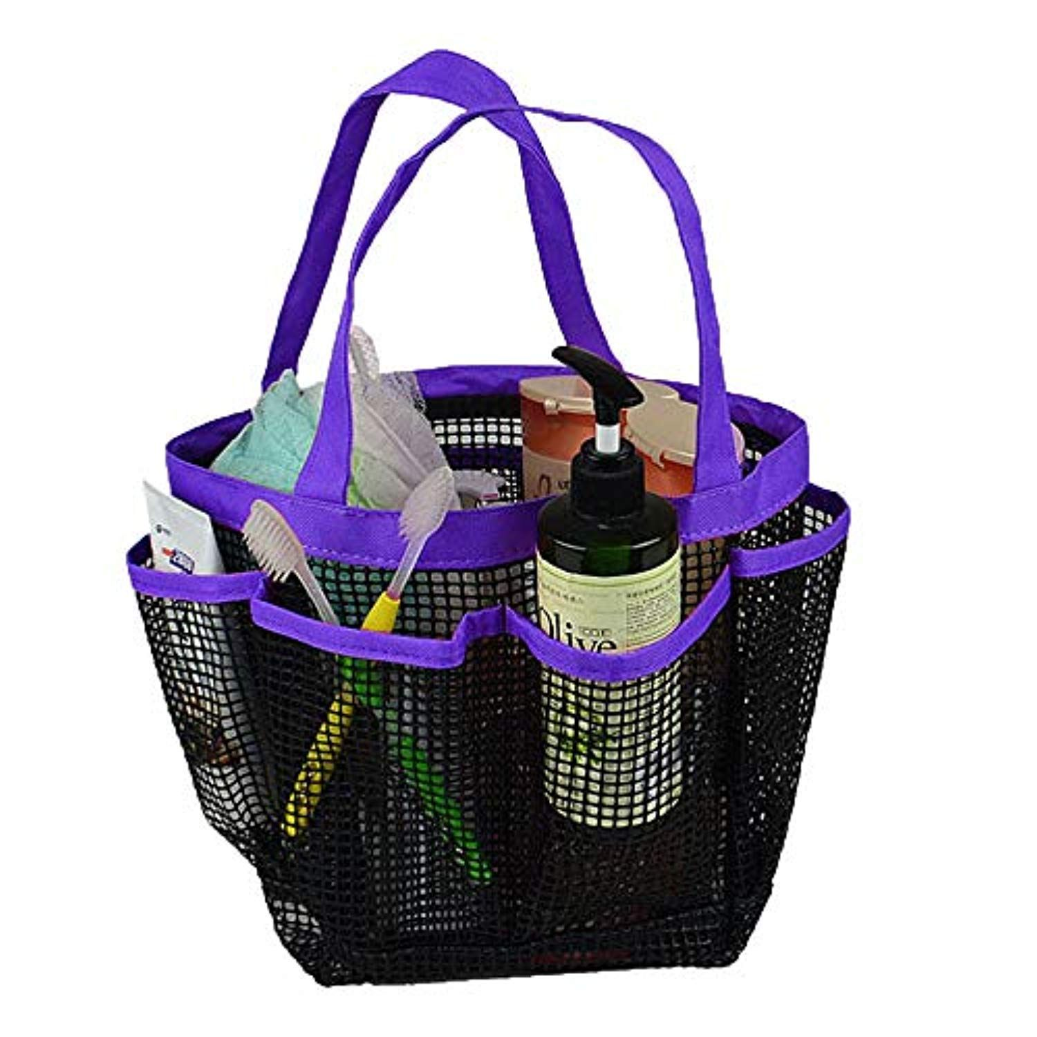 Mesh Shower Caddy 1 Pc Portable Quick Dry Shower Tote Bag Toiletry And Bath Organizer Shower Basket Show Shower Caddy Shower Basket Bath Organization