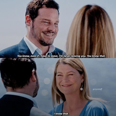 GREY'S ANATOMY S14E24 Alex and Meredith #greysanatomy