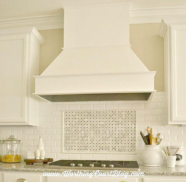 The New Kitchen Backsplash Worthing Court Shabby Chic Kitchen Kitchen Design Diy Kitchen Tiles Backsplash
