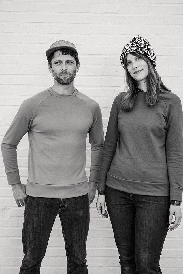 Colette Seamwork Magazine - Paxson Men\'s and Women\'s Sweater sewing ...