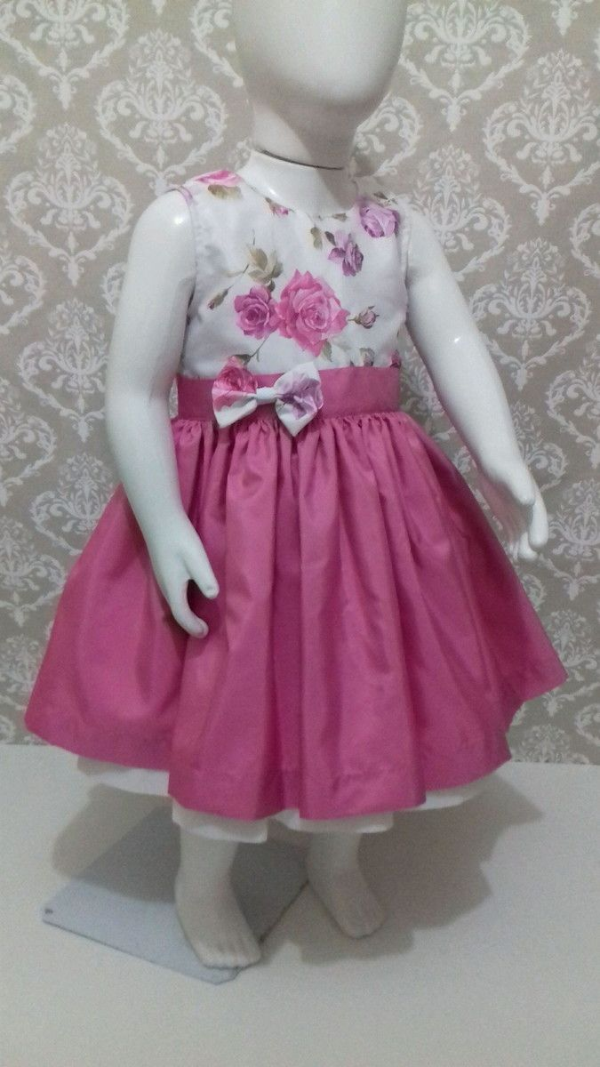 vestido Infantil | Vestidos de niñas, Vestidos niña y Vestiditos