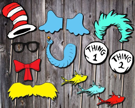 Instant File Download This Listing Is For A Set Of 12 Dr Seuss