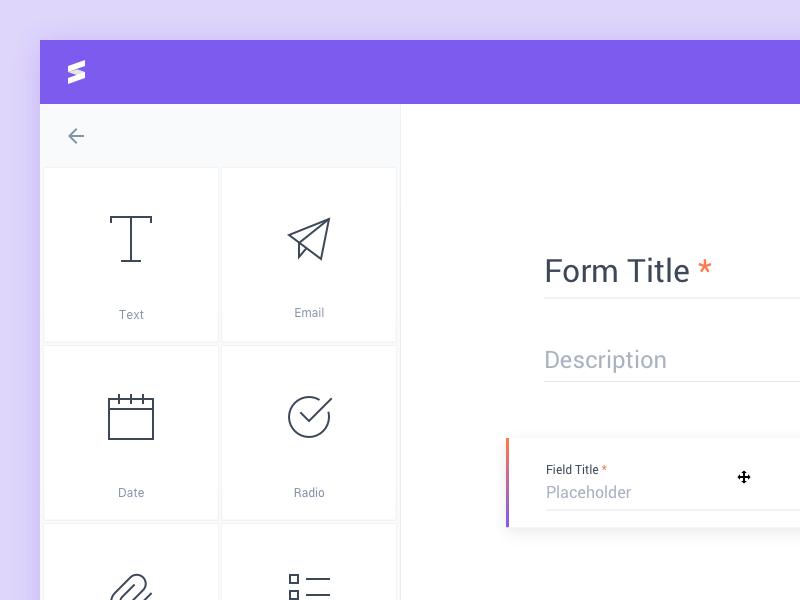 Form Builder Form Builder Web App Design Web Design