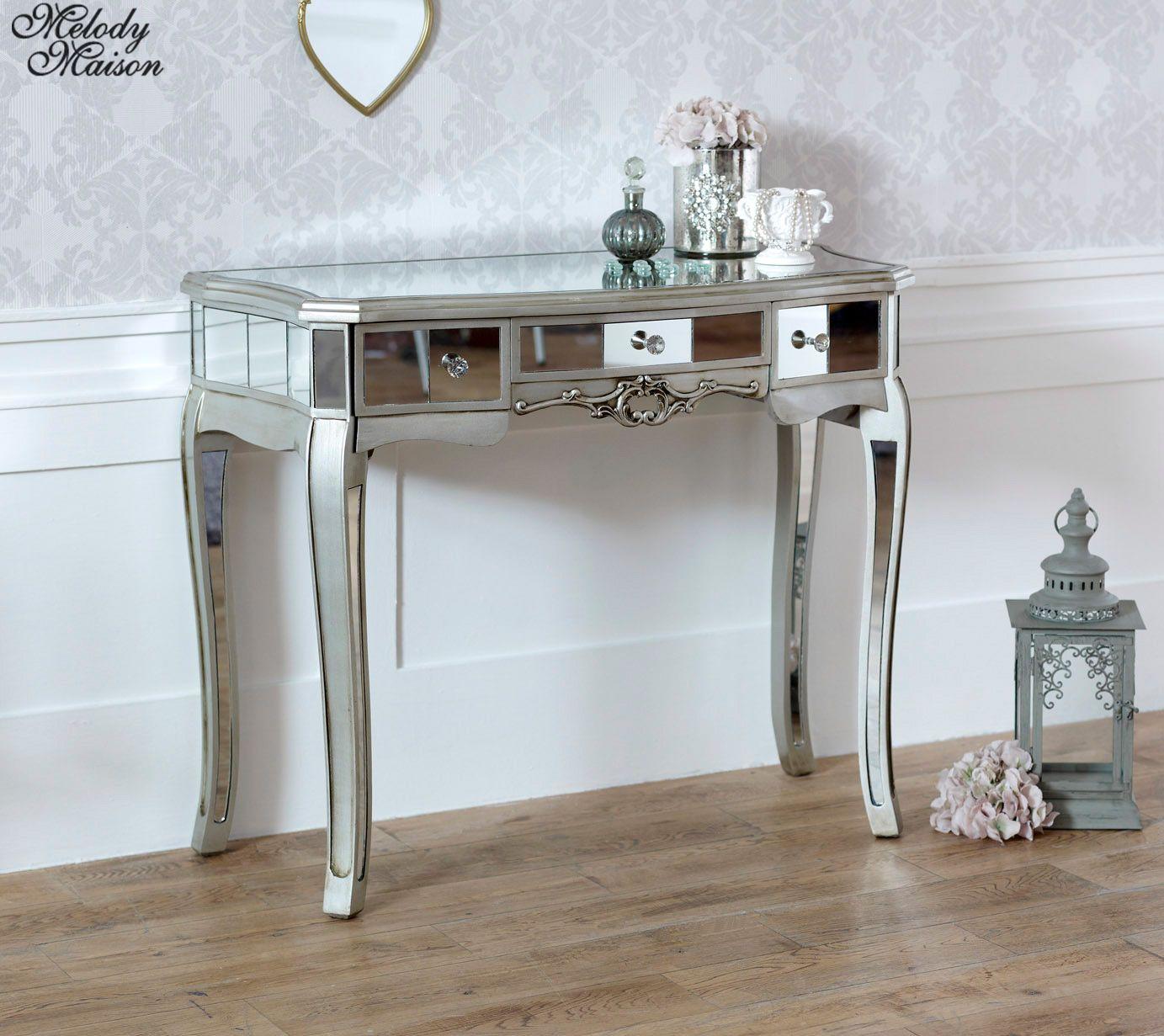 save off 3b07e c1161 Mirrored Dressing Table - Tiffany Range | Bedroom Ideas ...