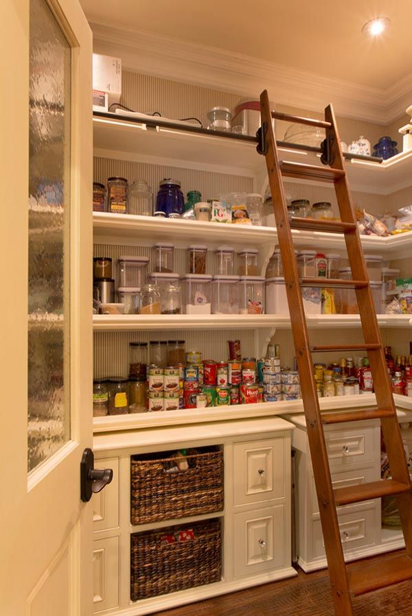 53 Mind-blowing kitchen pantry design ideas | Kitchen pantry ...
