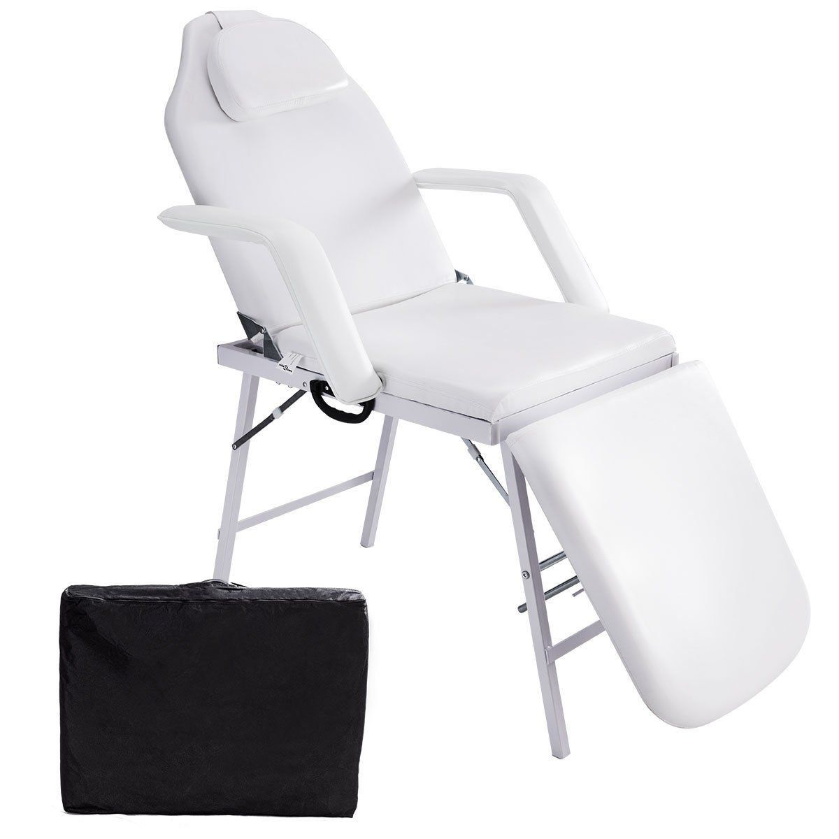 Giantex73 Portable Tattoo Parlor Spa Salon Facial Bed Beauty Massage Table Chair Click Image For More Details Massage Table Beauty Chair Table And Chairs