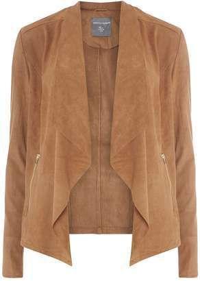 wardrobe essential suede jacket