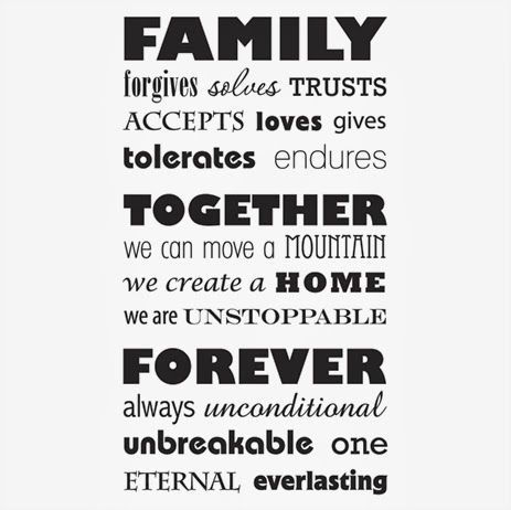 family sticks together quotes Google Search Friends