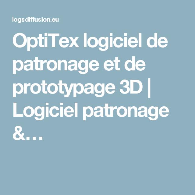 optitex logiciel de patronage