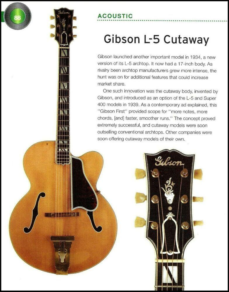 1939 Gibson L 5 Cutaway 1934 Super 400 Acoustic Guitar History Article Gibson Guitar History Articles Guitar Reviews